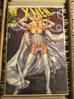 X-MEN #9 JAY ANACLETO VARIANT COVER WHITE QUEEN EMMA FROST uncanny bad girl 2019