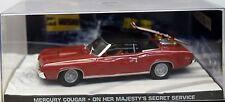James Bond 007 - Mercury Cougar - On her Majesty´s Secret Service