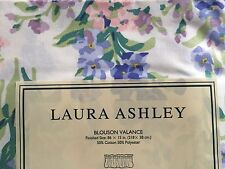 HTF Old Stock Laura Ashley Blouson Valance Curtain NIP Made In U.S.A.