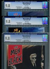 Men in Black #1, 2, 3 CGC 9.8 (1990) 1st First Appearance Complete Set Highest