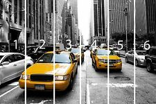 Nyc Wall Mural New York Taxi 3D Mural Photo Wallpaper Decor Large Paper Wall