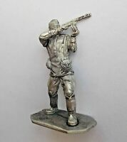 """1/32 Soviet USSR WWII infantry private 1943 Tin Metal soldier 54mm / 2,1"""" figure"""