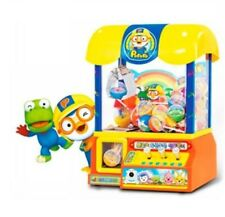 Pororo Crane Candy Catcher Claw Grab Ball Coin Vending Machine Korea Play game