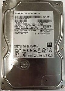 Hitachi 500Gb SATA 6.0 Gb/s Hard Drive 7200RPM HDS721050DLE630