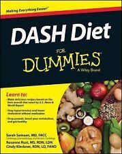 Dash Diet for Dummies Sarah Samaan Paperback Book