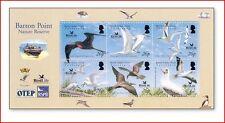 BIO0701 Bird life, fishing boats and birds sheet of 6 pcs.
