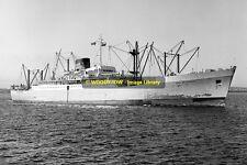 mc0195 - Port Line Cargo Ship - Port Melbourne , built 1955 - photo 6x4
