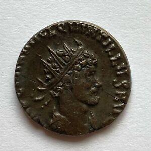 Roman Empire: Quintillus, 270 AD, AE Antoninianus - Laetitia