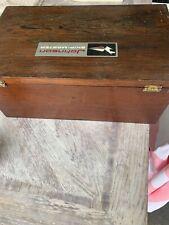 vintage Johnson Ship Master wooden marine boat Box Outboard Motor