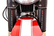 Kohlefaser Faser Optik Verkehrt Gabelprotektoren - Für Ducati Motorräder