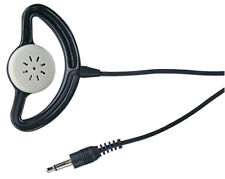 High Quality Black Mono Earpiece with Cup and 3.5mm Jack Plug Earphone - NEW UK