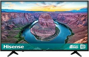 Hisense H43AE6100UK 43-Inch 4K Ultra HD HDR Smart TV with Freeview Play - Black