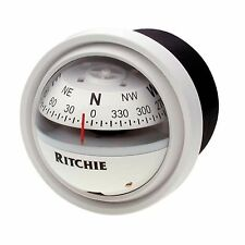 Ritchie V-57 Dash Mount Marine Compass White 2-3/4""