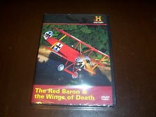RED BARON AND THE WINGS OF DEATH World War One Fokker History Channel DVD NEW