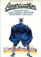 AMERICATHON soundtrack BEACH BOYS elvis costello NICK LOWE ex LP HOLLAND 1979