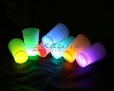 Bicchierini bicchieri luminosi starlight 6pz prodotti per feste chupito party