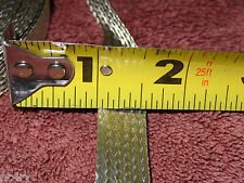 """20'...1/2"""" wide tin plated copper ground strap....FREE SHIPPING"""
