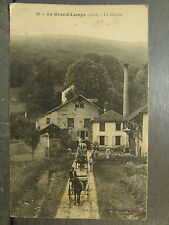 cpa 38 eclose avenue du moulin animee