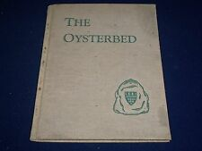1940 THE OYSTERBED HARDCOVER BOOK - BRANDFORD COLLEGE - 1ST EDITION - KD 1753