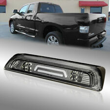 Smoked 3D LED Third Brake Light/3rd Rear Stop Lamp for 2007-2018 Toyota Tundra