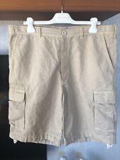 Brunello Cucinelli Men's Beige Casual Shorts Size 56 40 BNWOT