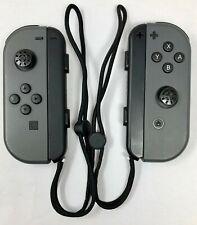 Genuine - Nintendo Joy-Con (L/R) Controllers -Gray for Nintendo Switch - (READ)