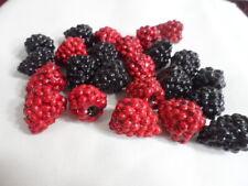 *Decorative pieces - Small Berries (Raspberries & Blackberries)