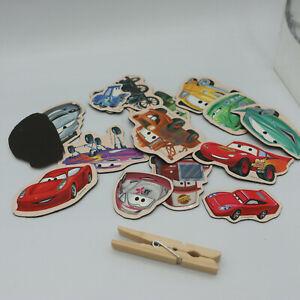 15 Disney Pixar Cars Magnetic Fun Characters Magnets
