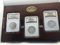 SS Republic Seated Half Dollar Set Shipwreck NGC 1860-O 1861-O CSA 1861-O