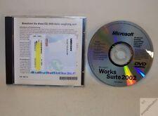 Microsoft Word 2002 + Works Suite 2002 Deutsch - original DVD + Key _gv