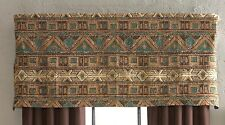 "Croscill GRAND MESA One Unlined Tailored Valance 54"" Width x 22"" Length"