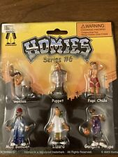 Homies Series #6 Santos Puppet Mad Bomber Lizard Papi Chulo Gangster Hoopa