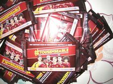 stickers football sachet non ouvert diables rouges panini