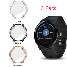 3 Pack for Garmin Vivoactive 3 Music Screen Protector Soft TPU All-Around Case