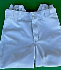 Boys Champro Sports Youth Baseball Pants White Short Style Size Y Large