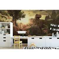 Original wall deco Mural sticker CUSTOM film children's room DAYCARE dinosaur