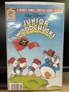Junior Woodchucks #1 (1991) Disney Comics NEWSSTAND Edition