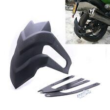 1x Black Motorcycle Rear Wheel Cover Fender Splash Guard Mudguard Bracket Solid