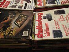 Vintage Original Lot of 50 SHUTTERBUG Magazines 265
