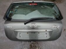 TOYOTA COROLLA TAILGATE / BOOT LID 1C3 GREY 2002 - 2006 BREAKING WHOLE CAR T3