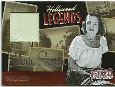 DONNA REED AMERICANA CELEBRITY SILVER SCREEN LEGENDS CUTS SWATCH SP 29/100 NICE