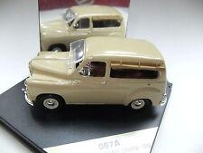 AUTO VITESSE 1:43 DIE CAST RENAULT COLORALE SAVANE 1950 BEIGE ART 067A