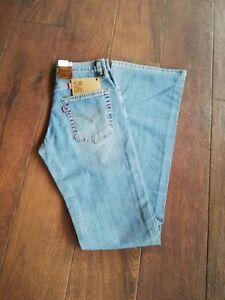 Original Levis Damen Jeans W27 / L32 RED TAB 525 GIRLS SLIM FIT BOOTCUT NEU!