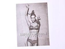 EMPORIO ARMANI Advert / Reklame Publicite Underwear Lingerie Victoria Beckham Ad