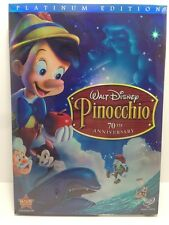 Pinocchio (DVD, 2009, 2-Disc Set, 70th Anniversary Platinum Edition)