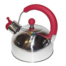 2.7L Fischio Bollitore in acciaio inox a gas elettrici induzione Crema Dots T7029