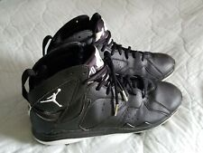 Nike Air Jordan Metal Baseball Cleats Spikes Sz 12 Black White  684943-010