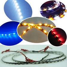 "2X 12W Super Bright 60cm/24"" 60leds 335 SMD Flexible Side Emitting Strip Light"