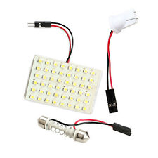 48 LED Light Panel + T10 + 43mm Dome Festoon Bulb Base W6