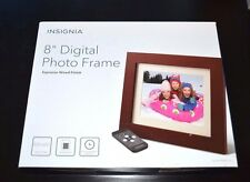 "Insignia - 8"" Digital Photo Frame - Espresso"